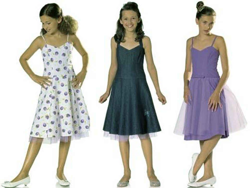 Girls Dresses Patterns Sewing