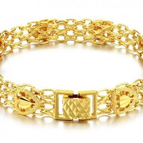 Gold Bracelets For Women Designs Pictures