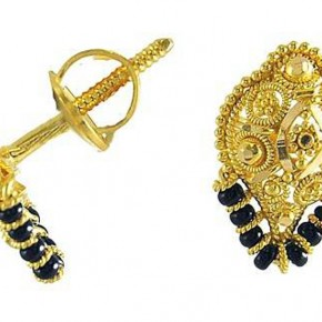 Gold Earring Designs For Women Pictures