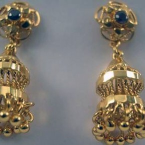 Gold Earring Designs Images Pictures