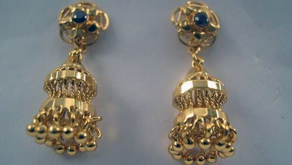 Gold Earring Designs Images - Inofashionstyle.com