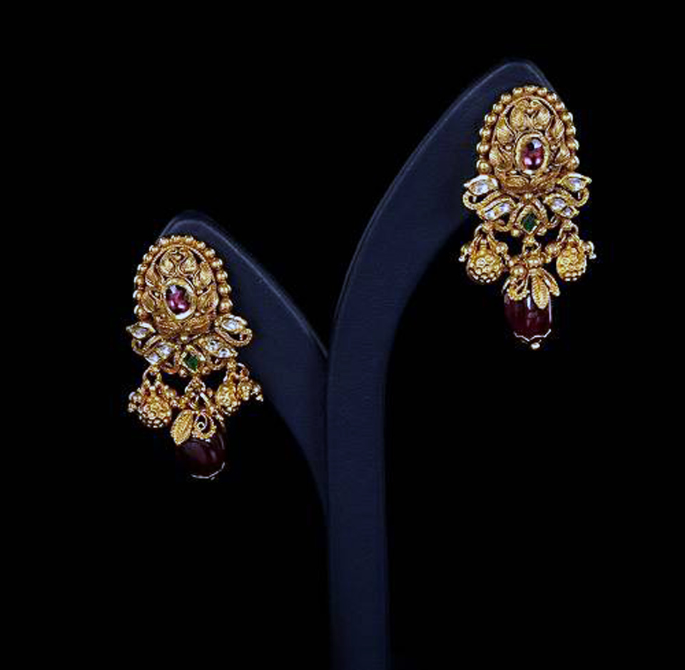 Gold Earring Designs With Price - Inofashionstyle.com