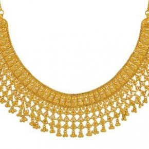 Gold Necklace Sets India Pictures