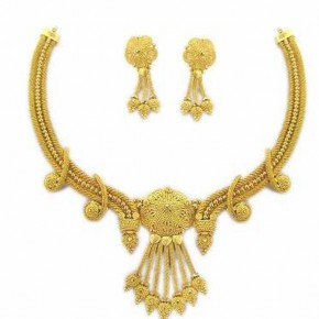 Gold Necklace Sets With Price Pictures