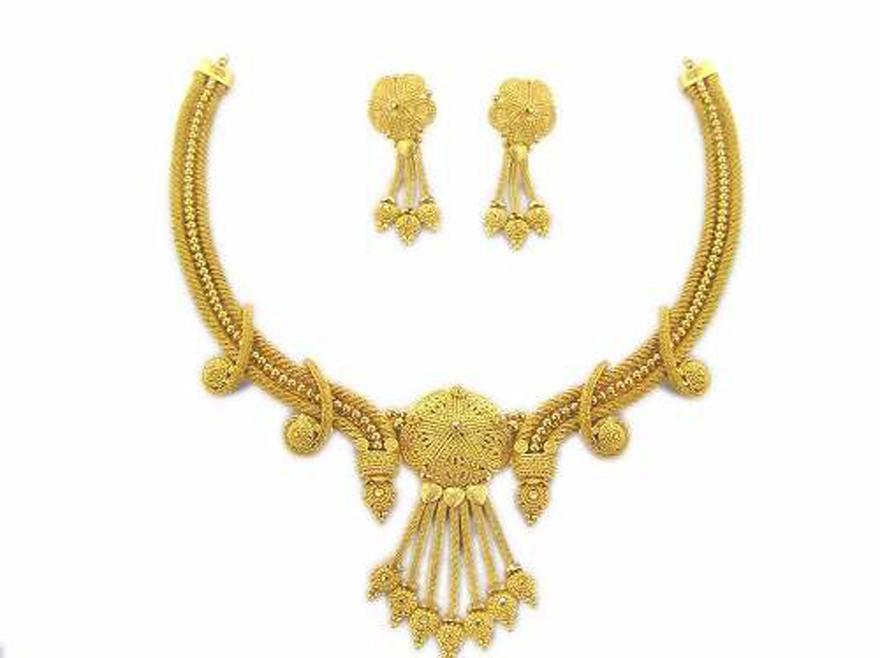 Gold Necklace Sets With Price - Inofashionstyle.com