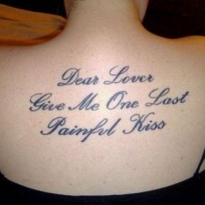 Good Love Tattoo Quotes For Girls Pictures