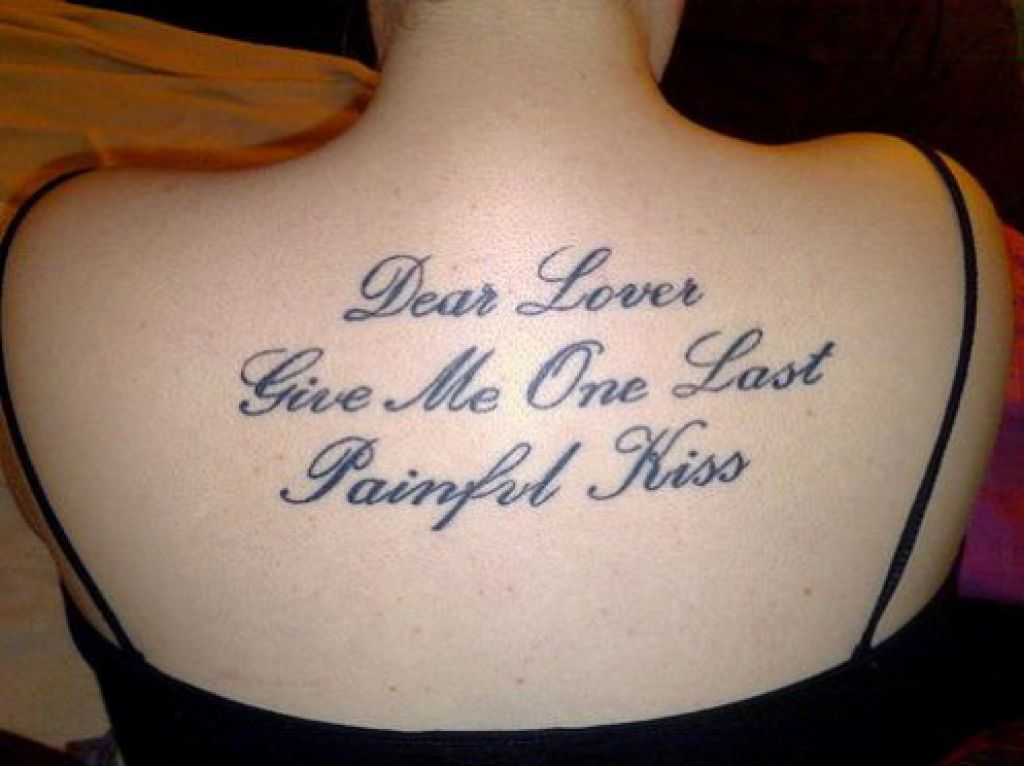 Good Tattoo Quotes For Girls Pictures