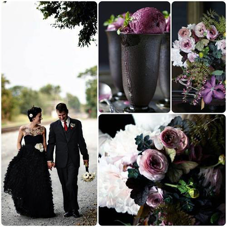 Gothic Black Wedding Dresses Theme Pictures Fashion Gallery