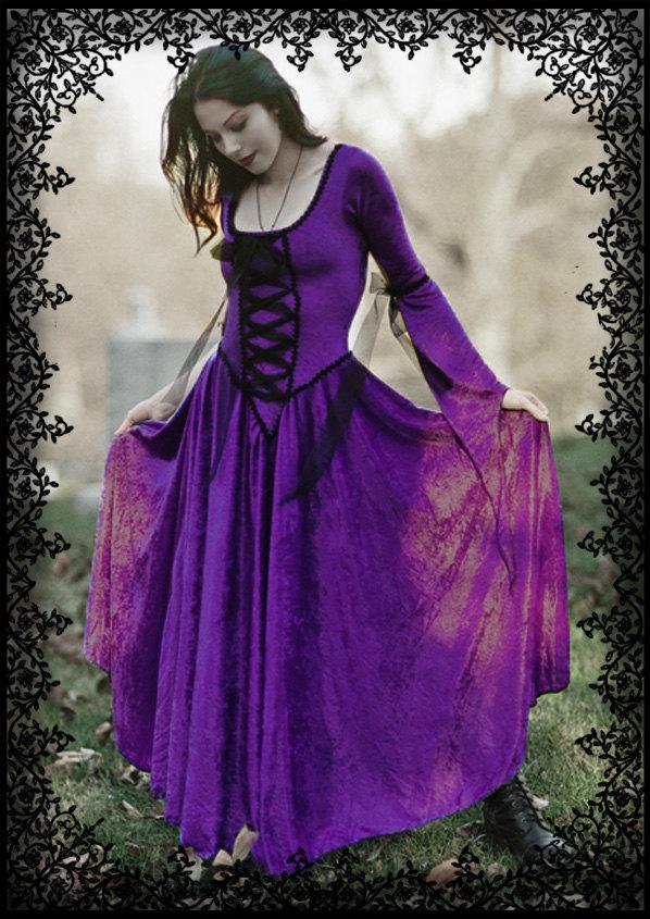 Gothic Wedding Dresses Genista Renaissance Fairy Tale Gown By Rosemortem