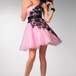 Grad Dresses Short Pink Pictures