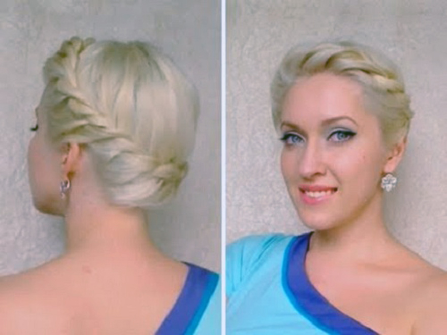 Grecian Updos Long Hair 2013