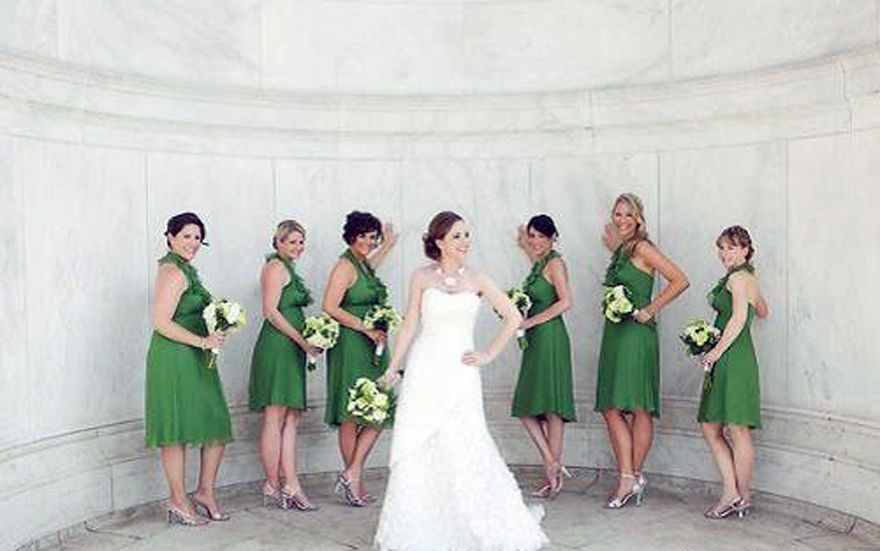 Green Bridesmaid Dresses 2013