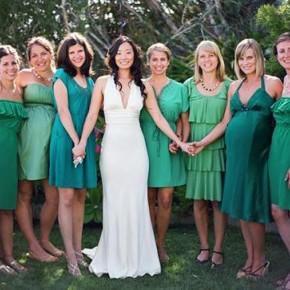 Green Bridesmaid Dresses Australia Pictures