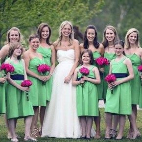 Green Bridesmaid Dresses Uk Pictures