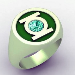 Green Lantern Ring Replica Pictures