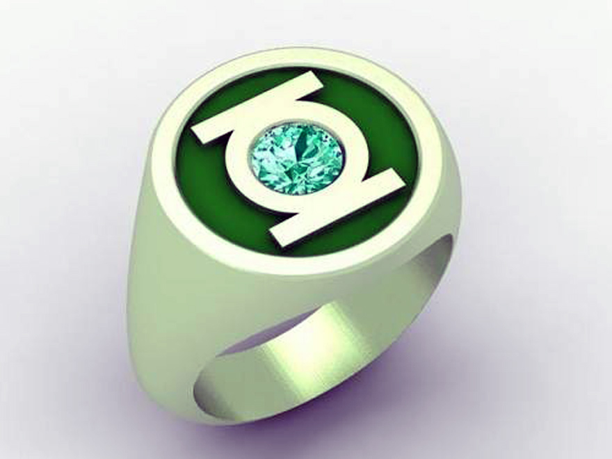 Green Lantern Ring Replica