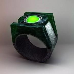 Green Lantern Wedding Ring Ideas Pictures