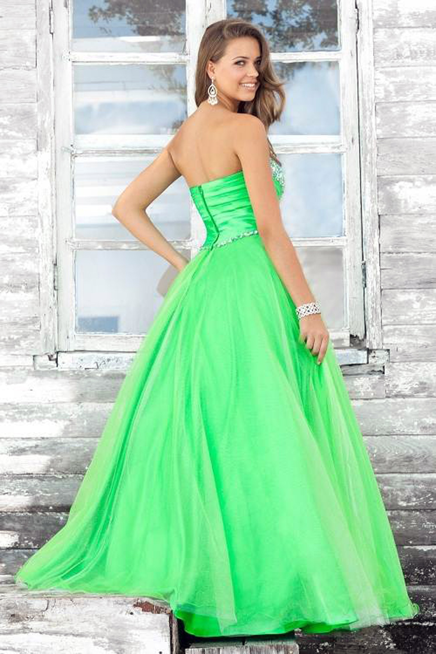 Green Prom Dress Ebay - Inofashionstyle.com