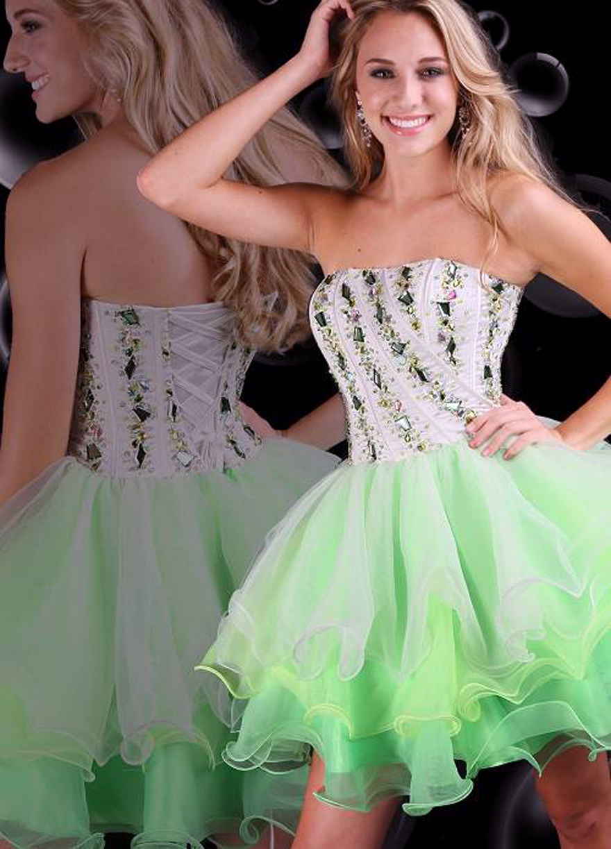 Green Short Prom Dress Ideas