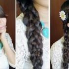 Hairstyles Braids Long Hair Cute Pictures
