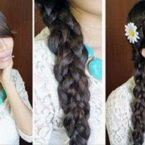 Hairstyles Braids Long Hair Cute Pictures