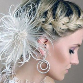 Hairstyles Braids Long Hair Wedding Pictures