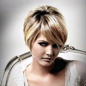 Hairstyles For Short Hair Round Face Pictures