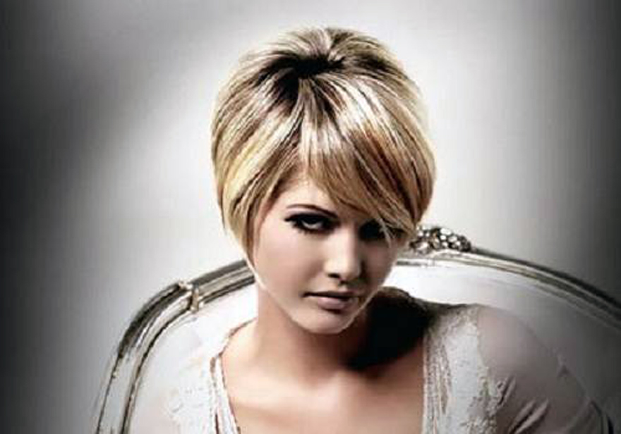 Hairstyles For Short Hair Round Face