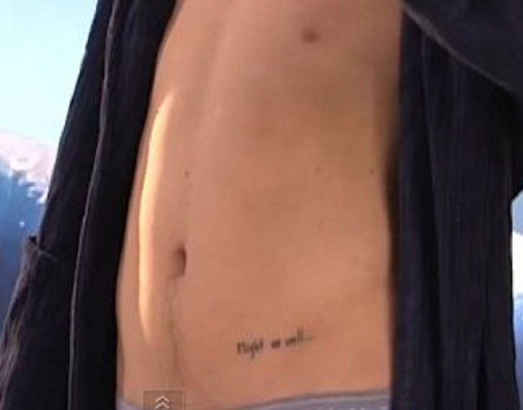 Harry Styles Might As Well Tattoo On Hip Pictures