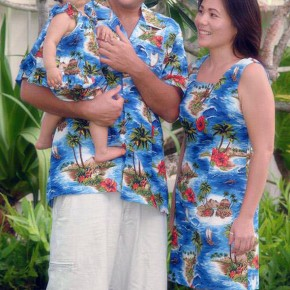 Hawaiian Dress For Men And Family Pictures