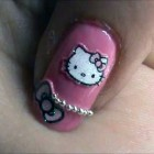 Hello Kitty Nail Designs Short Nails 2013 Pictures