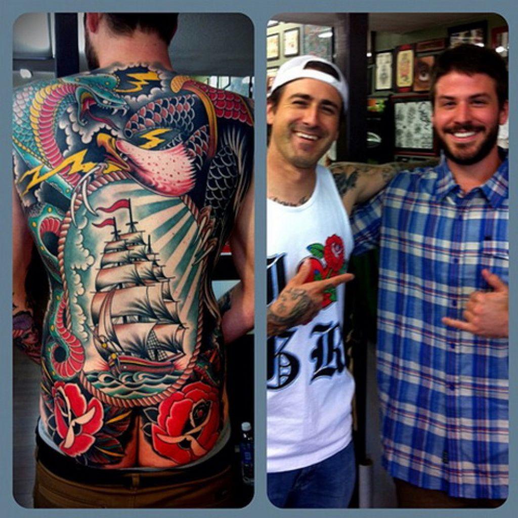Hendricks Teams Tattoo Artist In California Pictures