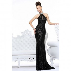 High Neck Long Prom Dresses 2013 Pictures