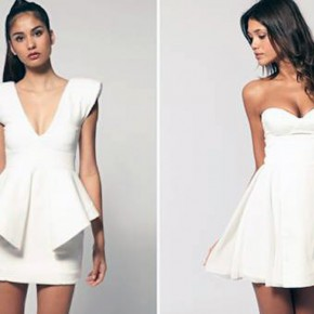 Holiday White Dress For Women Designs Pictures