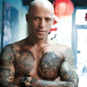 Huey Morgan Famous Tattoo Artist Pictures