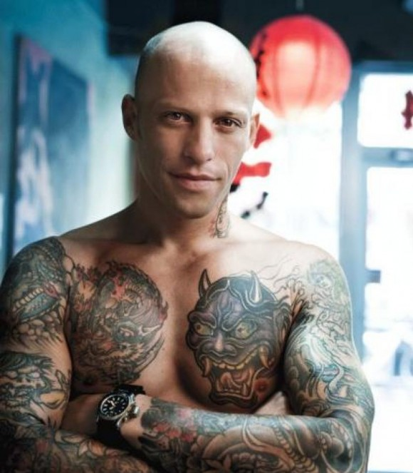 Huey Morgan Famous Tattoo Artist