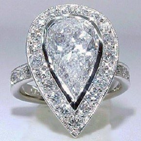 Huge Diamond Rings For Bridal Pictures
