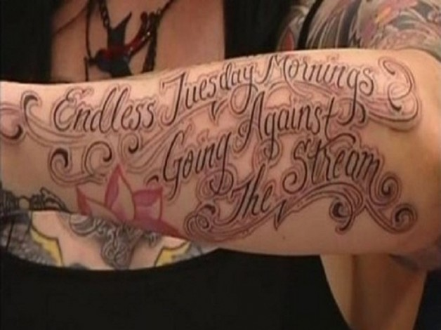 Inspiring LA Ink Tattoo Quote Ideas