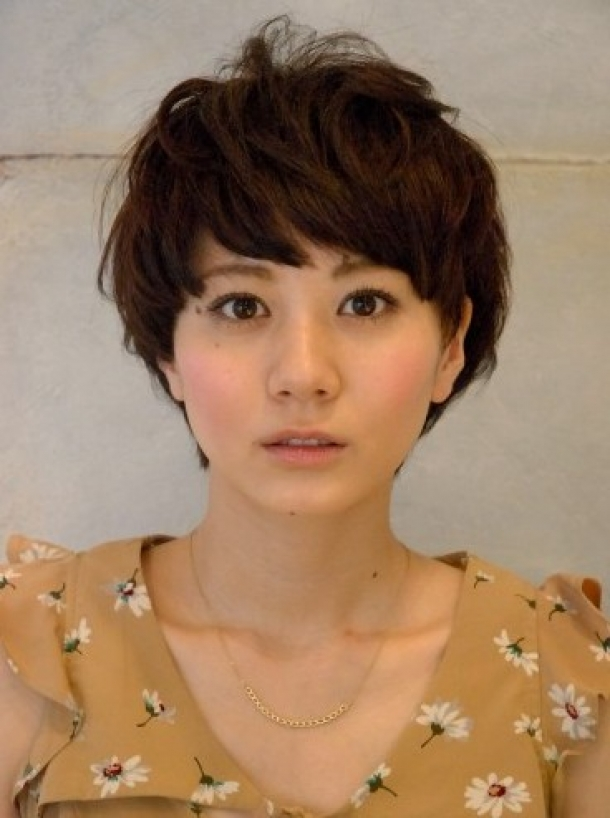 Japanese Fashion Hairstyles Short Wavy Japanese Hairstyle