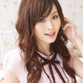 japanese fashion hairstyles, Wave Brown Japanese Hairstyle 2011
