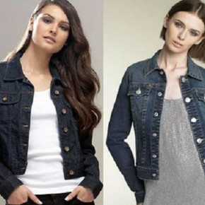 Jeans Jacket For Women Online Pictures