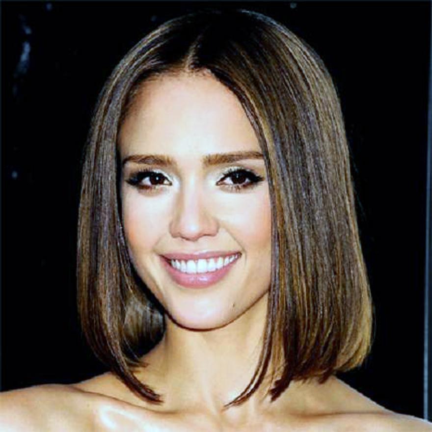 Jessica Alba Short Hairstyles Bob