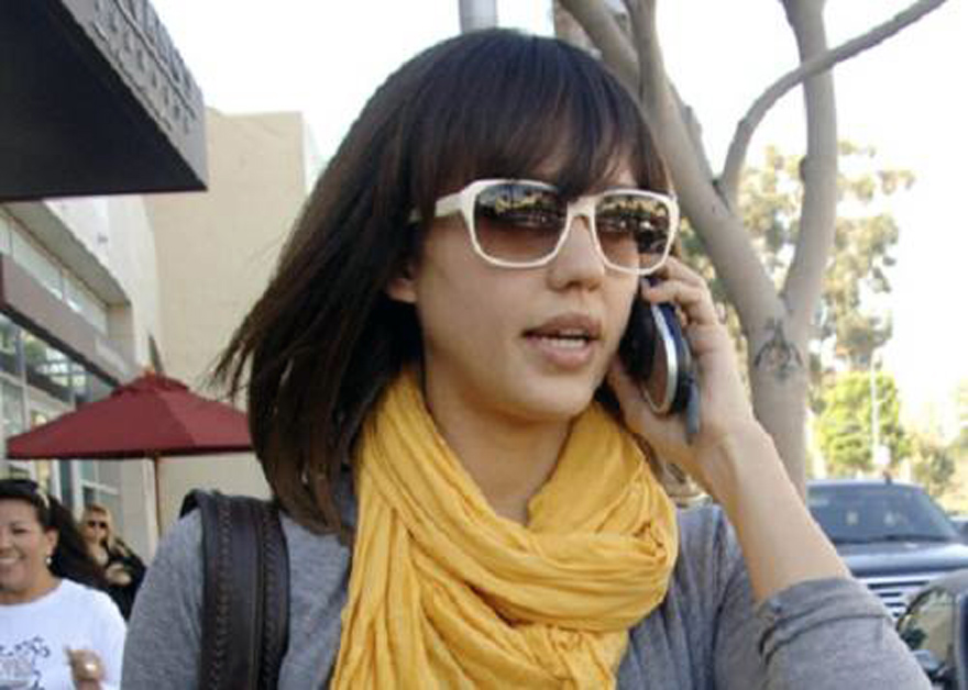 Jessica Alba Short Hairstyles Images