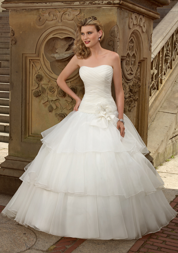 Magnificent Jessica Mcclintock Wedding Dresses Image - Wedding Ideas ...