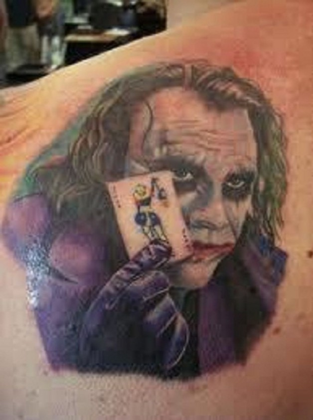 Joker Card Miami Ink Tattoo Designs