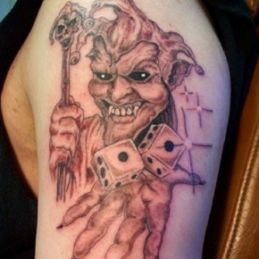 Joker Sleeve Tattoo Designs Pictures