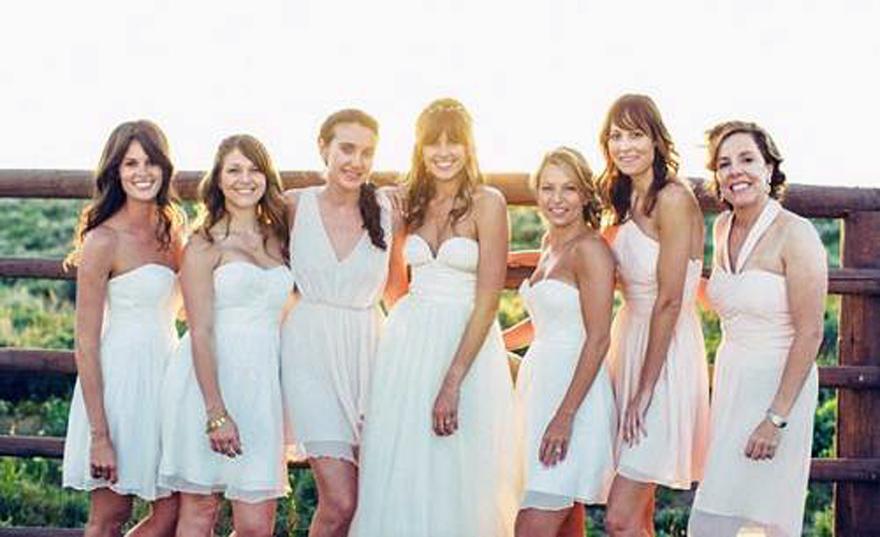 Junior Bridesmaid Dresses Knee Length