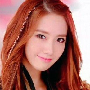 Korean Auburn Hair Straight Styles Pictures