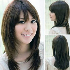 Korean Hairstyle Women Round Face Pictures
