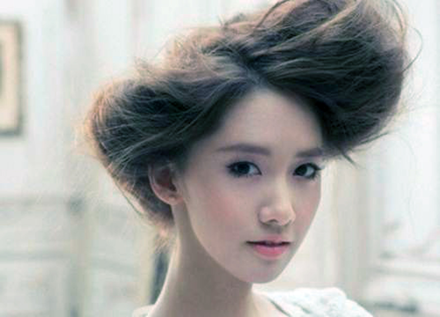 Korean Wedding Hairstyles Unique